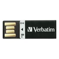 Verbatim Clip-it USB stick10-3MB/sec - 8GB zwart