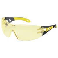 UVEX PHEOS védőszemüveg, fekete/sárga