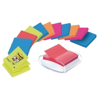 DEVIDOIR PRO BL+ LOT DE 12 BLOCS POST-IT Z NOTES SUPER STICKY 76X76 BORA/BANGK