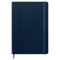 Oxford Office Signature notitieboek A5 gelijnd blauw