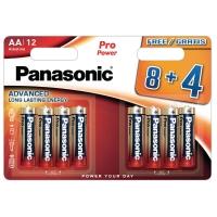 Panasonic LR6/AA Pro Power alkaline batterij -pak van 12
