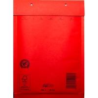 Luchtkussenenveloppen 200 x 275mm rood - doos van 100