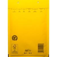 Luchtkussenenveloppen 200 x 275mm geel - doos van 100