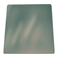 SOUS-MAIN PVC SOUPLE TRANSPARENT ANTIREFLET ANTIDERAPANT DURAGLASS 42X30 DURABLE