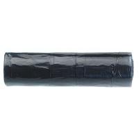 Rollo de 15 bolsas de basura de 30 litros 550x600mm color negro