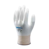 SHOWA ถุงมือ BO-500-W ไนลอนเคลือบฝ่ามือด้วยโพลียูริเทน ขนาด 8 ขาว