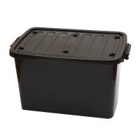 กล่องพลาสติกเอนกประสงค์แบบมีฝาปิด 100L 100 ลิตร 48x75x43 ซม. คละสี