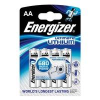 Energizer Litiumparisto AA/LR6, 1kpl=4 paristoa