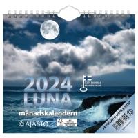 AJASTO LUNA SEINÄKALENTERI 200X180MM