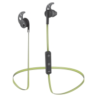Sila Bluetooth Wireless Earphones - black/lime