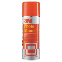 3M PHOTO MOUNT - AEROSOL SPRAY ADHESIVE FOR PERMANENT MOUNTS 400ML CAN