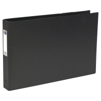 ELBA BLACK A3 4 D-RING LANDSCAPE BINDER