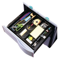 POST-IT NOTE TRAY DRAWER ORGANISER 50 X 280-410 X 300MM