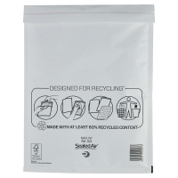 MAIL LITE WHITE POSTAL BAGS 240 X 330MM (9 1/2 X 13INCH) - BOX OF 50
