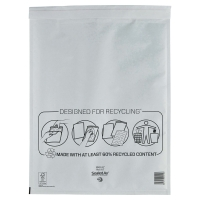 MAIL LITE WHITE POSTAL BAGS 350 X 470MM (13 3/4 X 18 1/2INCH) - BOX OF 50