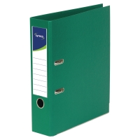 LYRECO POLYPROPYLENE GREEN A4 LEVER ARCH FILES - BOX OF 10