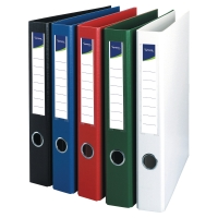 LYRECO WHITE A4 4O-RING BINDER 25MM CAPACITY