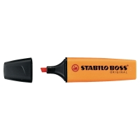 STABILO BOSS ORANGE HIGHLIGHTERS - BOX OF 10