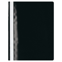 LYRECO BUDGET BLACK A4 PROJECT FILES 25 SHEET CAPACITY - PACK OF 25