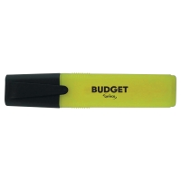 LYRECO BUDGET YELLOW HIGHLIGHTERS - PACK OF 10