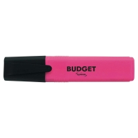 LYRECO BUDGET PINK HIGHLIGHTERS - PACK OF 10