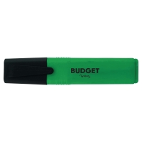 LYRECO BUDGET GREEN HIGHLIGHTERS - PACK OF 10