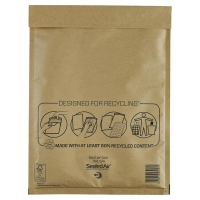 MAIL LITE GOLD POSTAL BAGS G4 240X330MM BOX OF 50