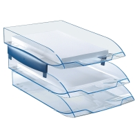 ICE BLUE LETTER TRAY - 63 X 273 X 370MM