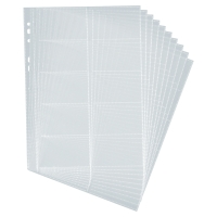 DURABLE CENTIUM A4 BUSINESS CARD FILE REFILLS - PACK OF 10