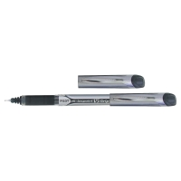 PILOT HI-TECPOINT V5 ROLLER BALL BLACK INK PENS 0.3MM LINE WIDTH - BOX OF 12