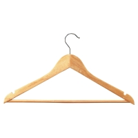WOODEN COAT HANGERS - PACK OF 25