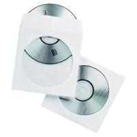 PAPER CD ENVELOPE POCKETS - PACK OF 50