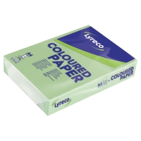 LYRECO CARD A4 160GSM GREEN - PACK OF 250 SHEETS