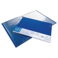 EXACOMPTA DARK BLUE A4 40-POCKET DISPLAY BOOK