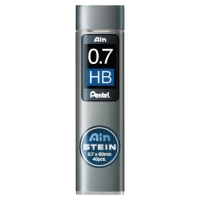 PENTEL C277 PENCIL LEADS 0.7MM HB - PACK OF 40