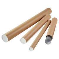 TIDYPAC POSTAL TUBES 750 X 80MM - PACK OF 10