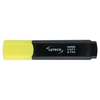 LYRECO HIGHLIGHTER YELLOW - BOX OF 10