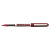 UNIBALL UB150 EYE ROLLERBALL 0.3MM LINE WIDTH - RED - BOX OF 12