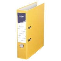 LYRECO BUDGET YELLOW A4 LEVER ARCH FILE 75MM
