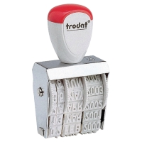 TRODAT 1010 STANDARD DATER STAMP - 4MM CHARACTER SIZE