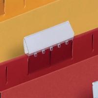 LYRECO PREMIUM CLEAR SUSPENSION FILE TABS - PACK OF 25