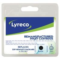 LYRECO INKJET CARTRIDGE COMPATIBLE HEWLETT PACKARD 339 C8767 BLACK