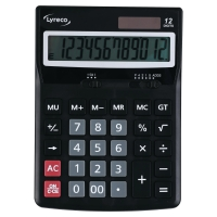 LYRECO OFFICE PREMIER CALCULATOR 12 DIGITS