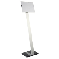 DURABLE 4812 INFO SIGN STAND FOR A4 ALUMINIUM