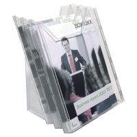 DURABLE COMBIBOXX TRANSPARENT A4 3 PIECE