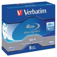 VERBATIM BDR BLU-RAY BOX OF 5