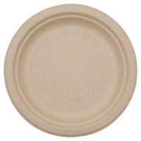 DUNI BIODEGRADABLE PLASTIC PLATES - PACK OF 50
