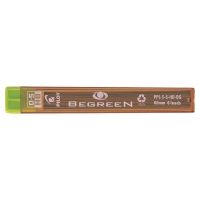PILOT BEGREEN PENCIL LEADS HB 0.5MM - TUBE OF 12 LEADS
