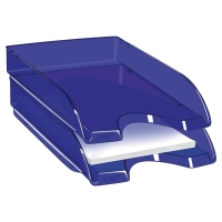 CEP PRO TONIC LETTER TRAY 64 X 260 X 345MM TRANSLUCENT BLUE