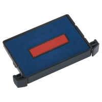 TRODAT ECO PRINTY 4750 DATER REFILL PADS BLUE/RED - PACK OF 2